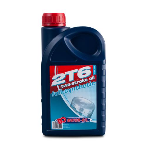 BO Oil 2T6, vollsynthetisch, 2-Takt Racing Öl 1l