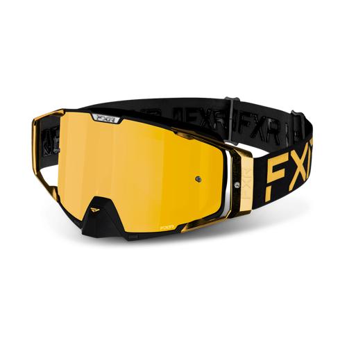 FXR Crossbrille FXR Pilot LE Gold