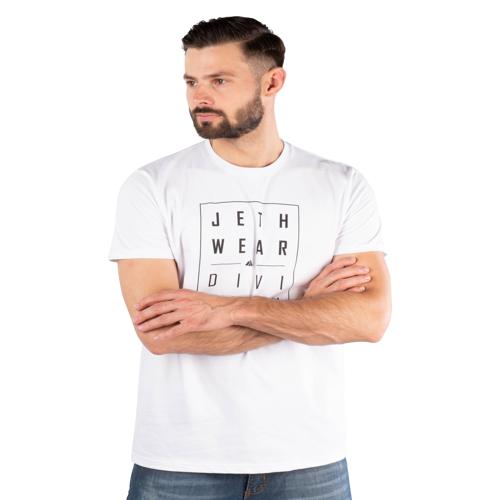 JETHWEAR T-Shirt Jethwear Weiß XL