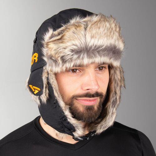 FXR Mütze FXR Trapper Hat Schwarz-Orange