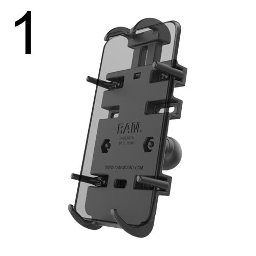 RAM® Mounts Telefonhalter RAM® Mounts Quick-Grip™