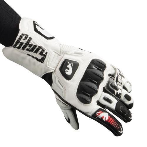 Furygan Handschuhe Furygan FIT-R2 Weiß-Schwarz