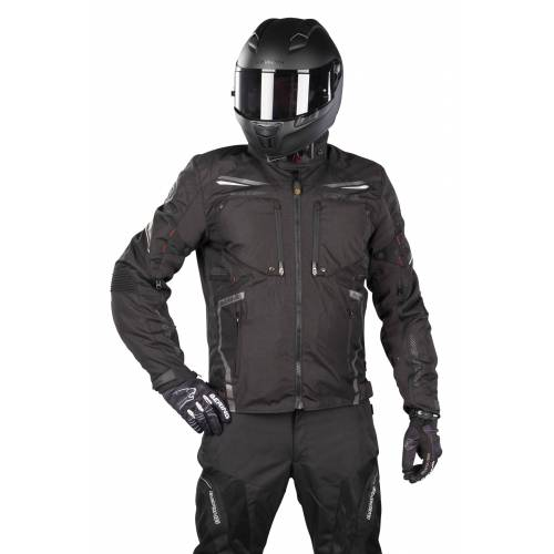 Bering Motorradjacke Bering Zodd Schwarz