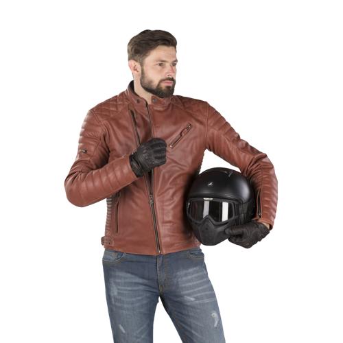 Segura Motorradjacke Segura Gomore Braun
