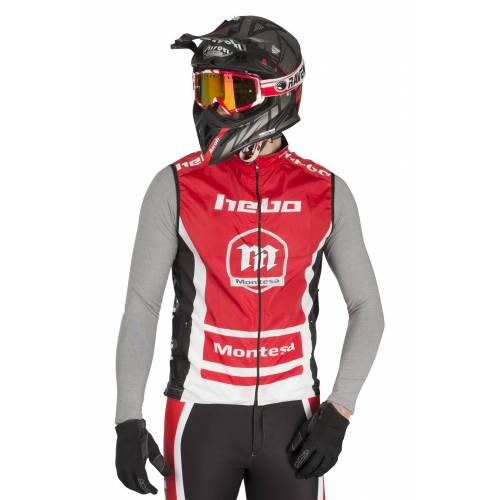 Hebo Weste Hebo Montesa Team III Rot