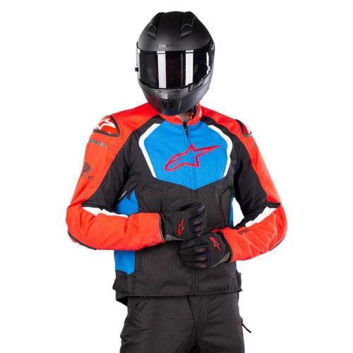 Alpinestars Jacke Alpinestars Honda T-GP Pro V2 Schwarz-Rot-Blau