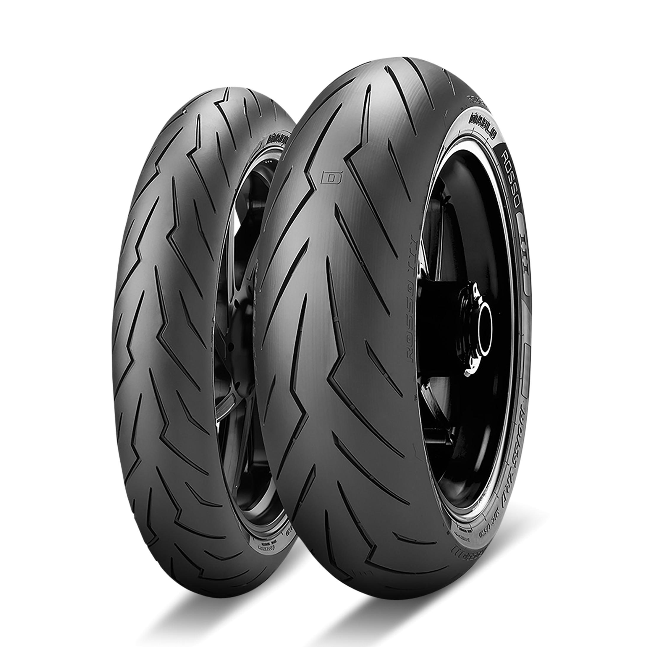 Pirelli Diablo Rosso III 120/65 ZR 17 M/C (56W) TL