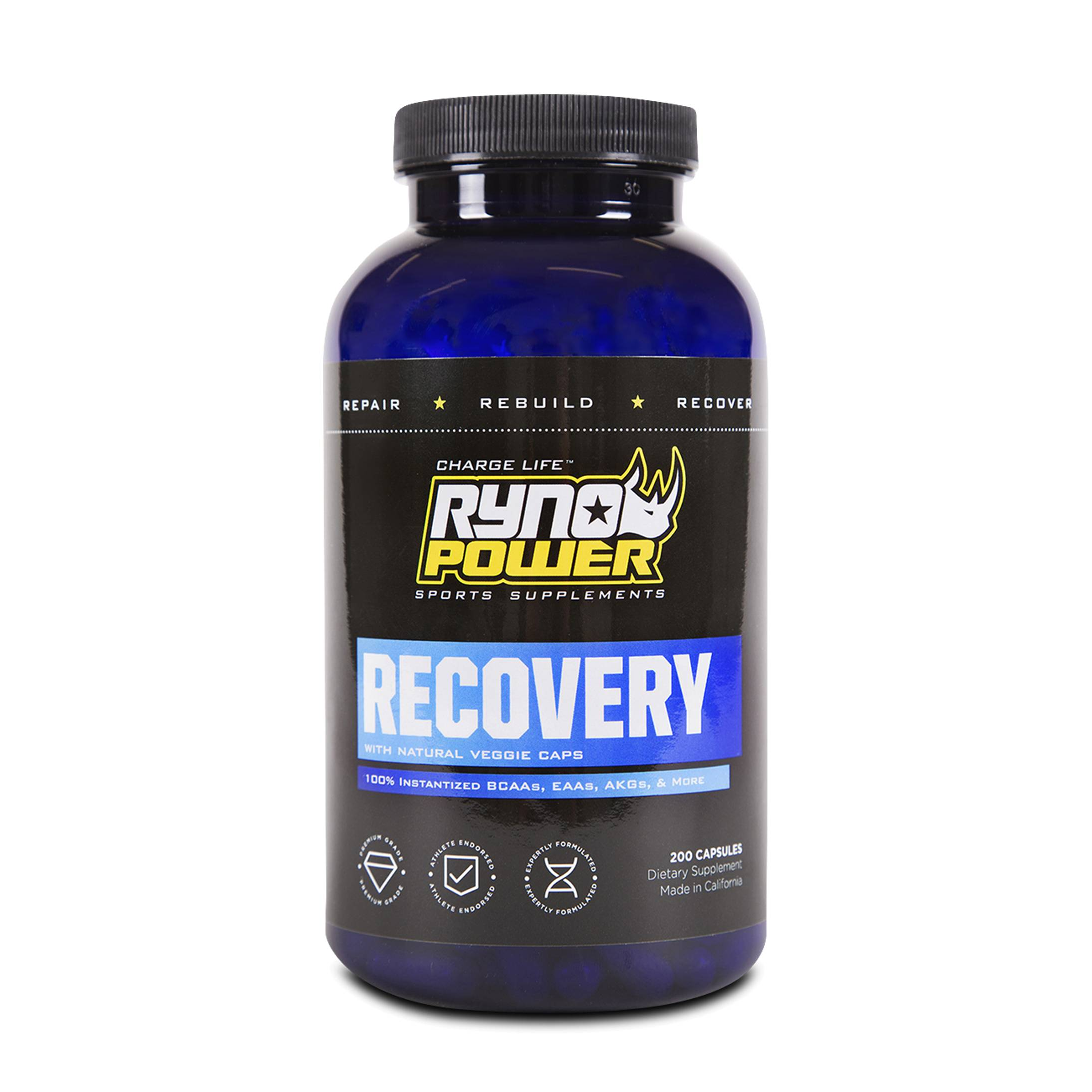 Ryno Power Recovery 200 Tabletten