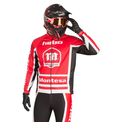 Hebo Jacke Hebo Montesa Classic III Rot