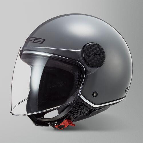 LS2 Offener Helm LS2 OF558 Sphere Lux Grau