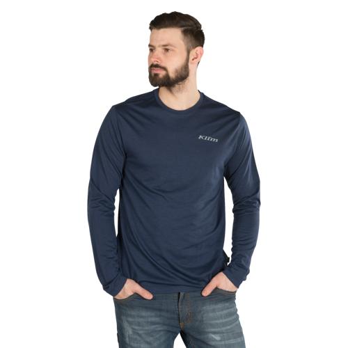 KLIM Unterhemd Klim Teton Merino Wool Blau