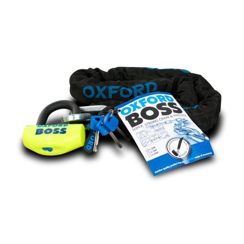 Oxford Schlosspaket Oxford Boss + 12,7mm Kette