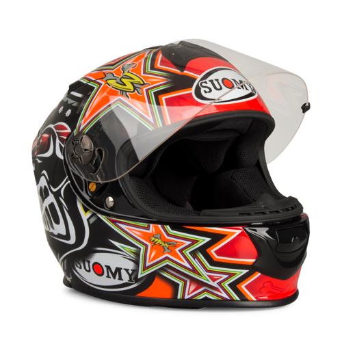 Suomy Helm Suomy SR-Sport Biaggi Rep. 2015 Rot