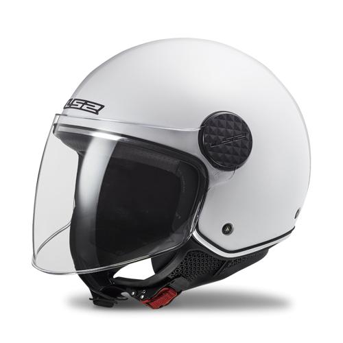 LS2 Offener Helm LS2 OF558 Sphere Lux Weiß