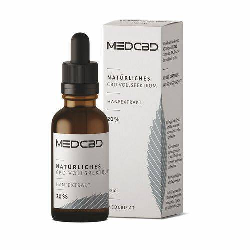 CBD HEILPFLANZEN VERTRIEBS GMBH MED CBD 20 % 30 ml Öl
