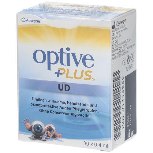 optive plus® UD Augentropfen 30X0,4 ml Augentropfen