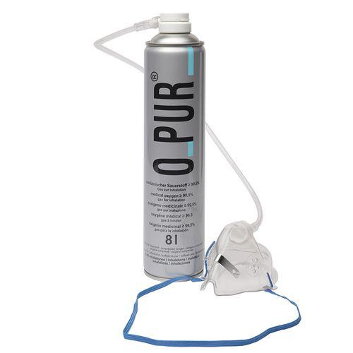O Pur® Sauerstoff Dose mit Maske 8 l Spray