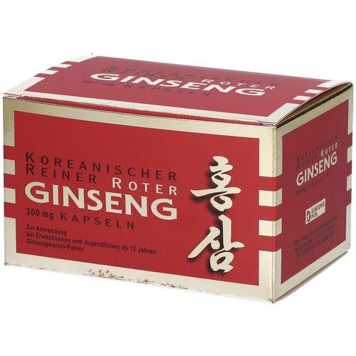 KGV Roter Ginseng Kapseln 300 mg 200 St Kapseln