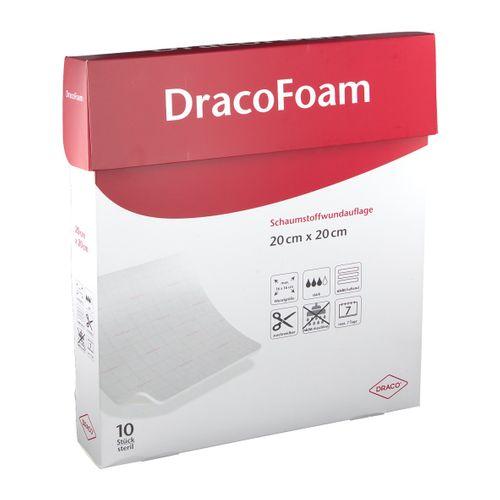 DracoFoam non-haft steril 20x20cm 10 St Verband