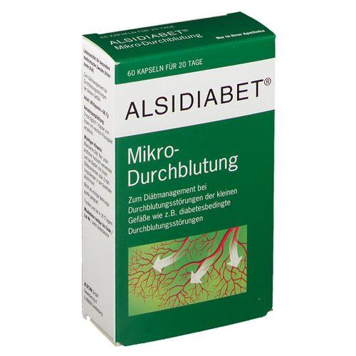 ALSIDIABET Alsidiabet® Mikro-Durchblutung 60 St Kapseln
