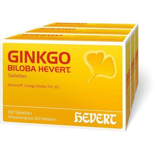 HEVERT Ginkgo Biloba Hevert® Tabletten 300 St Tabletten