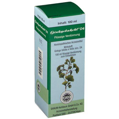Ginkgobakehl® D4 Tropfen 100 ml Tropfen