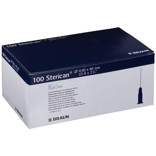 Sterican® zur Neuraltherapie G23 x 3 1/8 Zoll 0,60 x 80 mm blau 100 St Kanüle