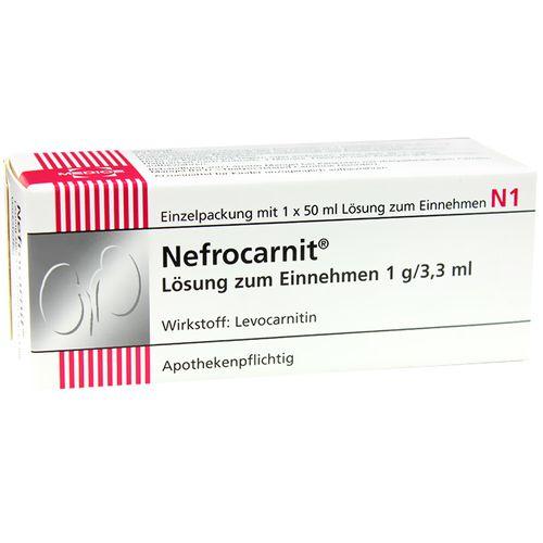 Nefrocarnit® Lösung zum Einnehmen 1 g/3,3 ml 50 ml Lösung zum Einnehmen