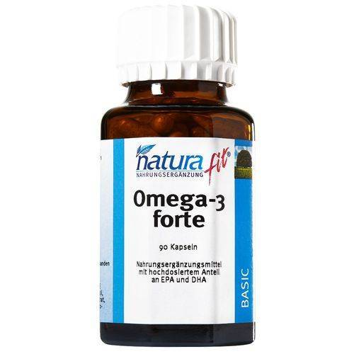 naturafit® Omega-3 forte 90 St Kapseln