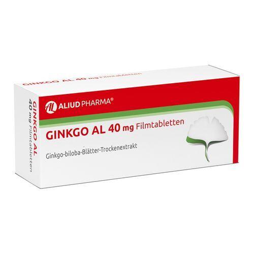 ALIUD Ginkgo AL 40 mg 120 St Filmtabletten