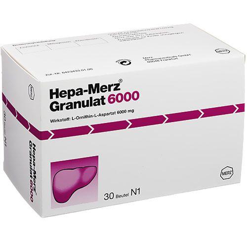 Hepa-Merz Hepa Merz Granulat 6000 30 St Granulat