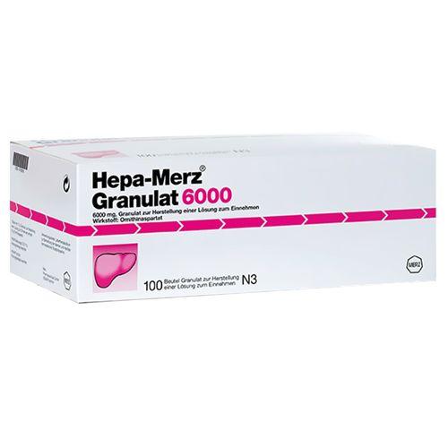 Hepa-Merz Hepa Merz® Granulat 6000 100 St Granulat