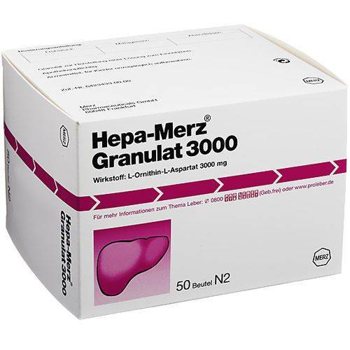 Hepa-Merz Hepa Merz Granulat 3000 50 St Granulat