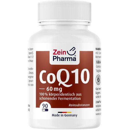ZeinPharma Coenzym Q10 Kapseln 60 mg ZeinPharma 90 St Kapseln