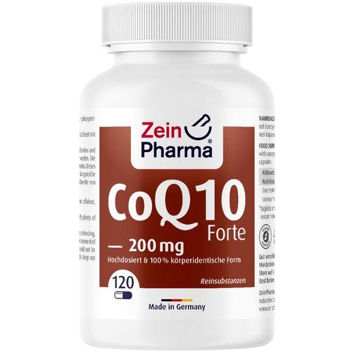 ZeinPharma Coenzym Q10 Kapseln forte 200 mg ZeinPharma 120 St Kapseln