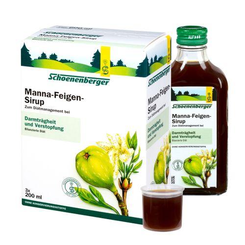 Schoenenberger® Manna-Feigen-Sirup 3X200 ml Sirup
