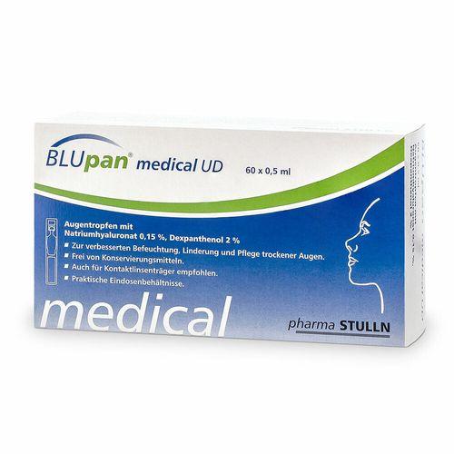 BLUpan® medical UD Augentropfen 60X0,5 ml Augentropfen