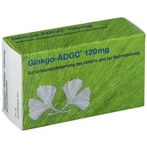 Ginkgo-ADGC® 120 mg 60 St Filmtabletten