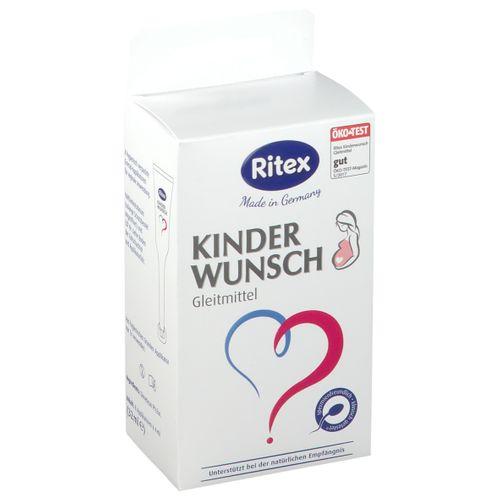 Ritex Kinderwunsch Gleitmittel 8X4 ml Gel