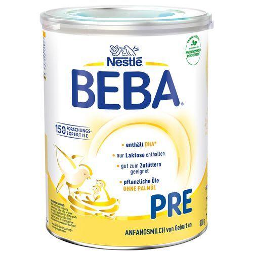 Nestle Nestlé Beba® PRE Anfangsmilch 800 g Pulver