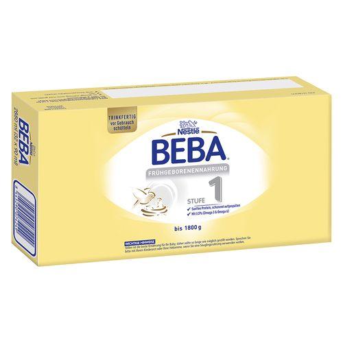 Nestle Beba Frühgeborenennahrung Stufe 1 32x90 ml Flüssigkeit