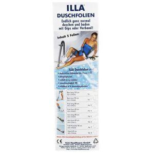 Illa® Duschfolien Bein kurz - 90cm 5 St Folie