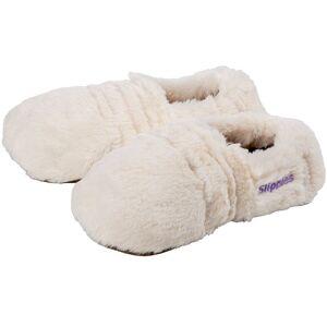 Warmies® Slippies Deluxe creme Plush beige Gr 36-40 1 St Wärmekissen