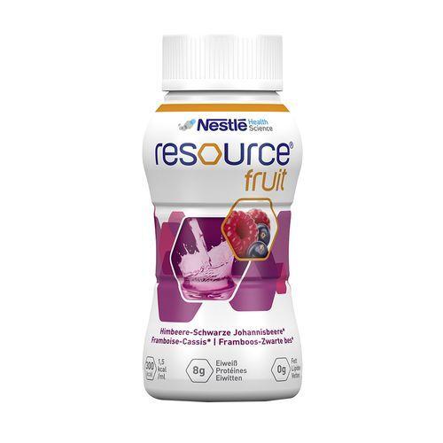 Nestle Resource® Fruit Himbeere-Schwarze Johannisbeere 4x200 ml Flüssigkeit