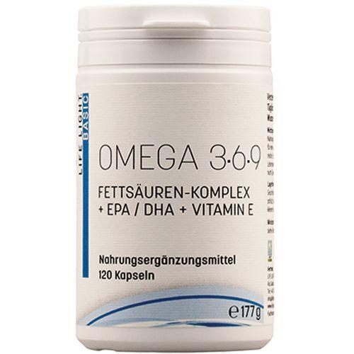 Life Light® Omega 3-6-9 120 St Kapseln