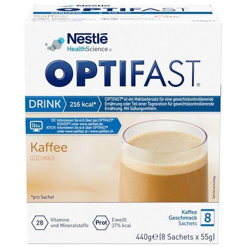 Optifast® home Drink Kaffee 8x55 g Pulver
