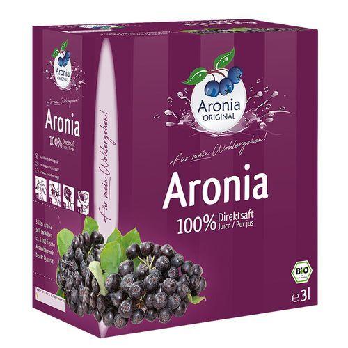 Aronia Original Aronia Direktsaft 3 l Saft