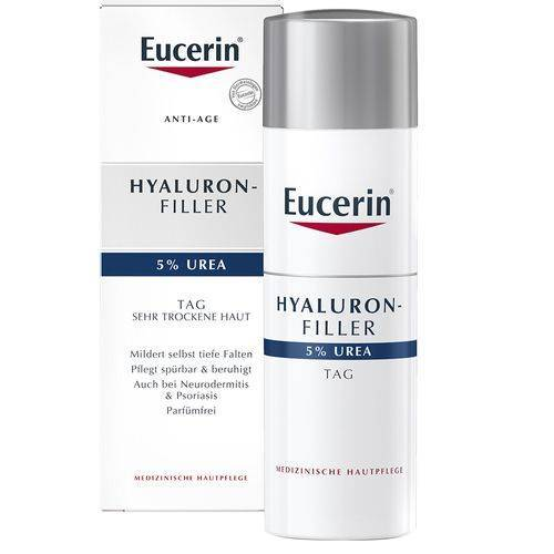 Eucerin® Hyaluron-Filler 5% Urea Tagescreme 50 ml Tagescreme