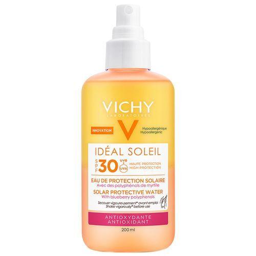 Vichy Idéal Soleil Sonnenspray Antiox LSF 30 Pumpflasche 200 ml Spray