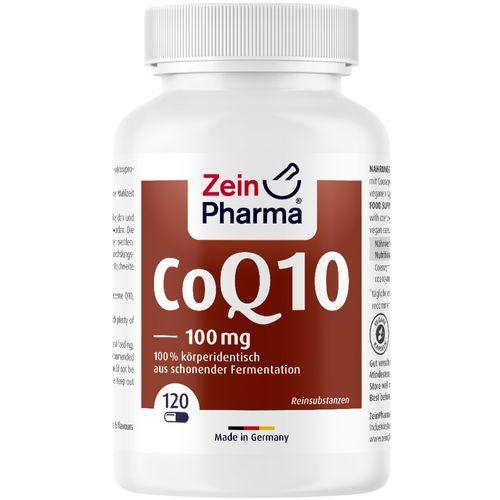 ZeinPharma Coenzym Q10 Kapseln 100 mg ZeinPharma 120 St Kapseln